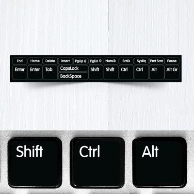 Modifier Keys Stickers for Keyboards (basic version)