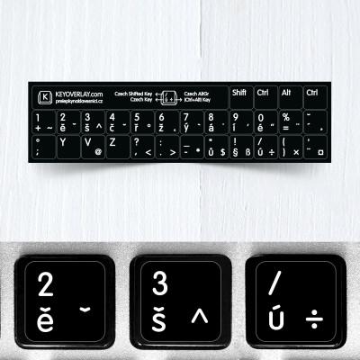 m cz short keyboard stickers
