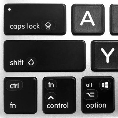 modifier keys stickers keyboard
