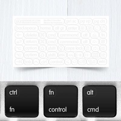 function keys small white